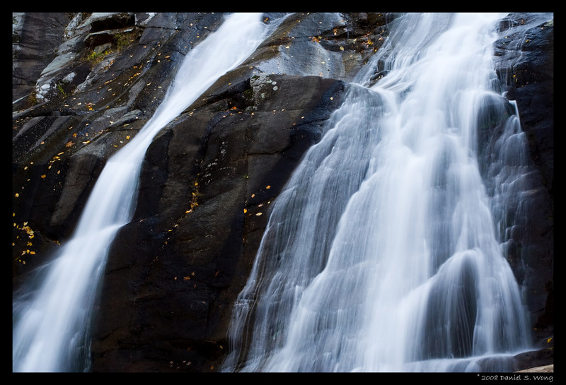 Upper Whiteoak Falls. Shenandoah National Park. Virginia.