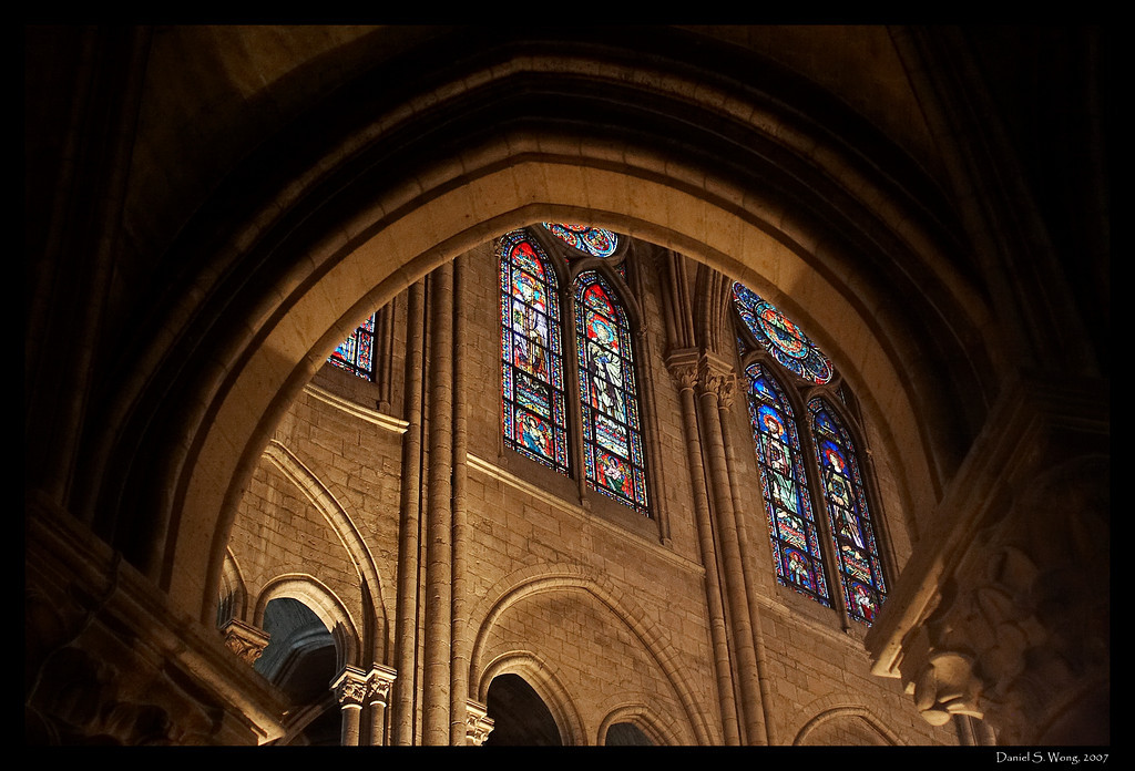 Notre Dame Cathedral. Paris, France